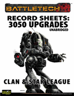 Record Sheets: 3050 Upgrade Unabridged, Clan and Star League