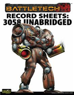 Record Sheets: 3058 Upgrade Unabridged, Clan