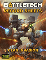 Record Sheets: Clan Invasion