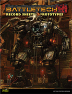 Record Sheets: Prototypes